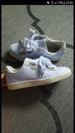 Puma Basket Heart sneaker 37,5 Flieder lila