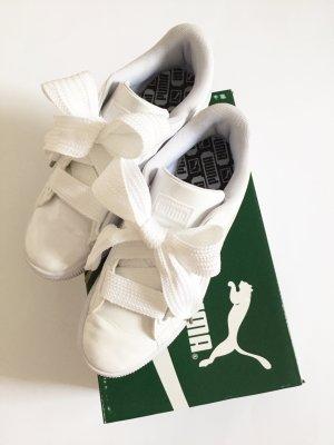 Puma Basket Heart Weiß