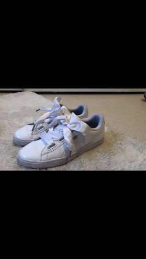 Puma basket in weiß