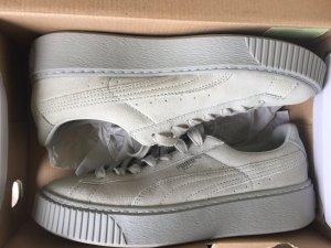 Puma Basket Resert Grey/ Violet Grey