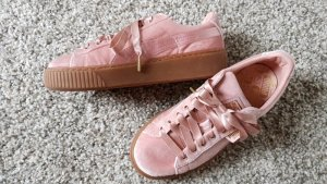 Puma Basket Samt rosa Gr.39