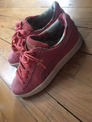 Puma Lace-Up Sneaker apricot-salmon