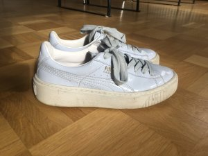 Puma Basket sneaker Sportschuhe hellblau 36