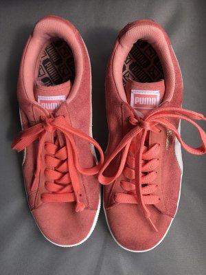Puma Basket Suede Classis Orange