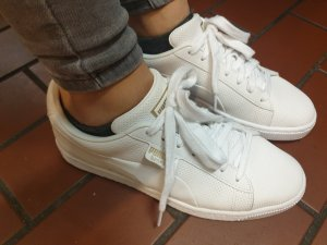 Puma Lace-Up Sneaker white-light brown
