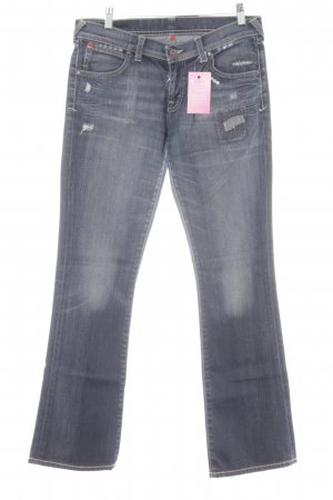 Puma Boot Cut Jeans dunkelblau Casual-Look