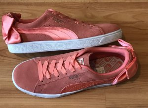 Puma Bow Schuhe Sneakers Lachs 40,5 neu