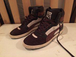 PUMA CONTACT high top Sneaker - weiss/braun große 40