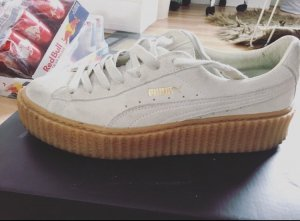 Puma creeper in white beige