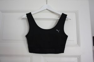 PUMA Crop Top Sport-BH Logo sportlicher Look