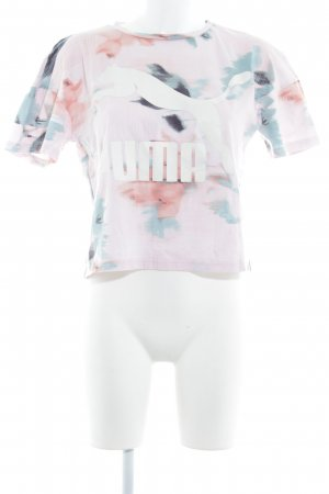 Puma Cropped Shirt Farbtupfermuster Street-Fashion-Look