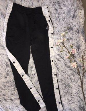 Puma Pantalone fitness nero-bianco