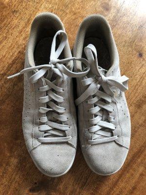 Puma Damen Sneaker Gr. 40,5 Leder beige Turnschuhe