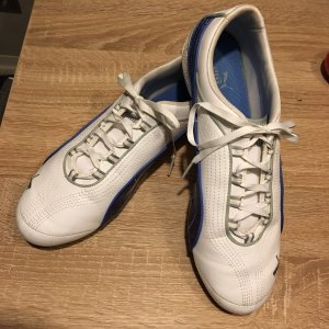 Puma Sneakers met veters wit-blauw