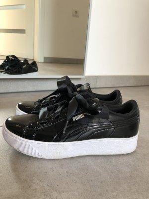 Puma Damen Vikky Platform Ribbon Sneaker Lack