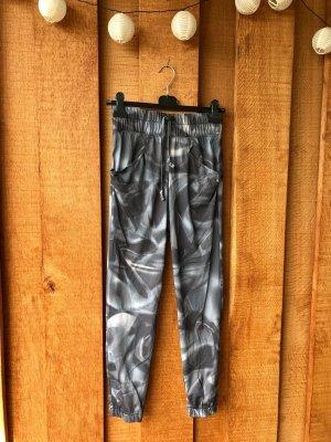 Puma Pantalon de sport argenté-blanc polyester