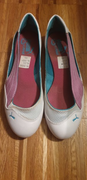 Puma Slip-on Sneakers white-turquoise