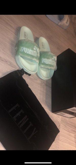 Fenty Puma by Rihanna Claquette vert menthe