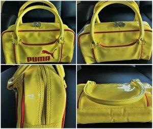 Puma Gelb Lack Tasche Gr. ca.30 x 17 x 7 cm