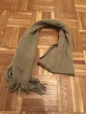 Puma Scarf gold-colored