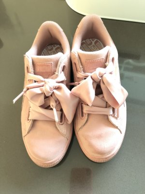 Puma Lace Shoes rose-gold-coloured-pink