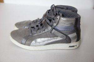 Puma grau/silber/lila High Top Sneaker