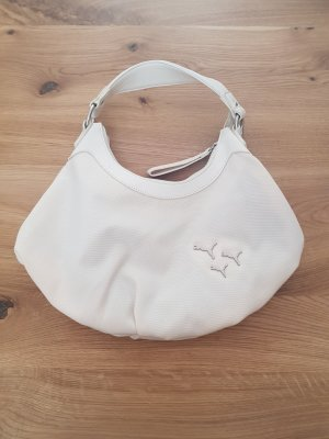 Puma Handtasche Weiß mit Silber
