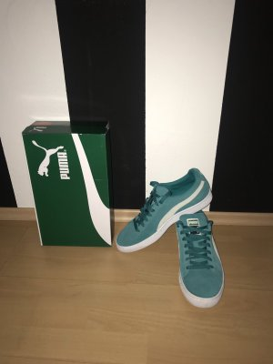 Puma Sneakers wit-turkoois