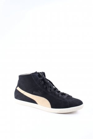 "Puma High Top Sneaker ""CLYDE Deconstructed MID Black"""