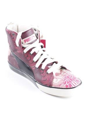 Puma High Top Sneaker florales Muster Casual-Look