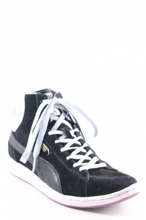 Puma High Top Sneaker mehrfarbig Skater-Look