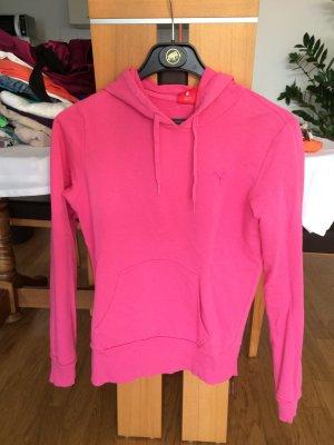 Puma Hoodie in rosa pink