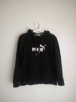 puma hoodie kapuzen pullover M 40 schwarz weiß urban streetstyle