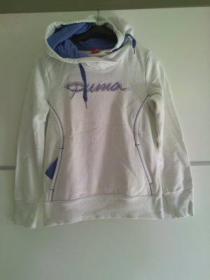 Puma Jersey con capucha blanco-lila