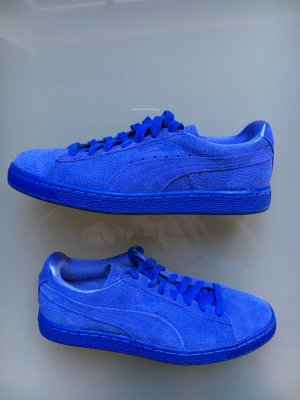 Puma in königsblau Wildleder Classic colored dazzling blue Sneakers