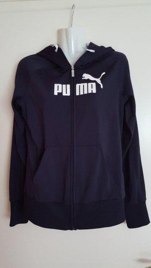 Puma Jacke in dunkelblau Größe 38