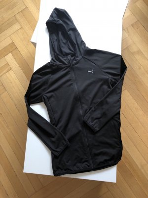 Puma Jacke Shirt XS 34 schwarz Damen Funktionshirt