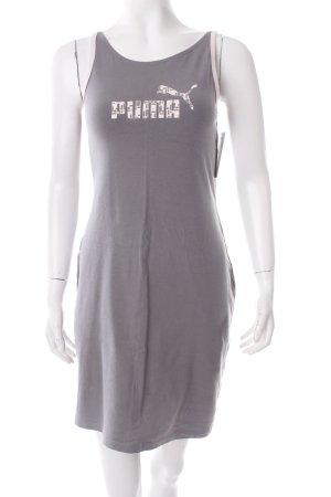 Puma Jerseykleid grau-hellrosa sportlicher Stil