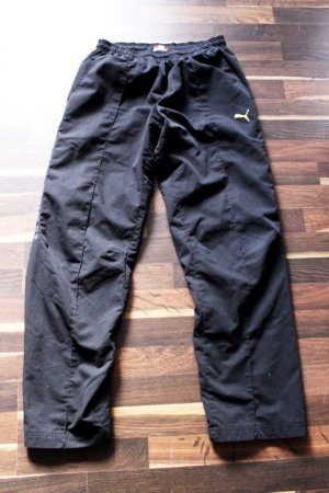 Puma Jogger Jogginghose schwarz gelb 38/40 Sweatpants