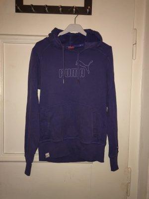 Puma Jersey con capucha lila Algodón
