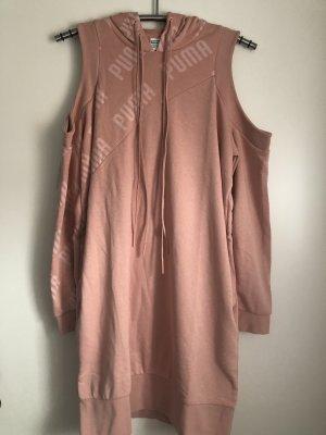 Puma Hooded Dress pink mixture fibre