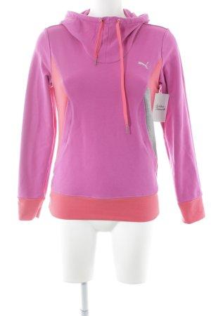Puma Jersey con capucha bloques de color estilo skater
