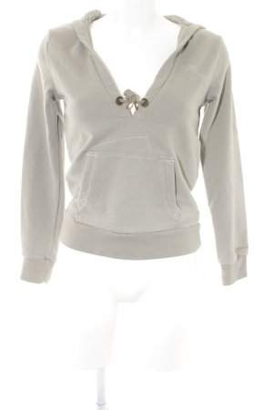 Puma Hooded Sweater sage green athletic style