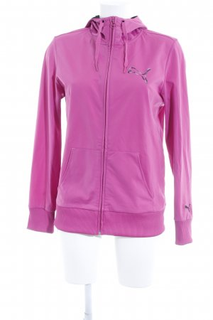 Puma Hooded Sweater pink athletic style