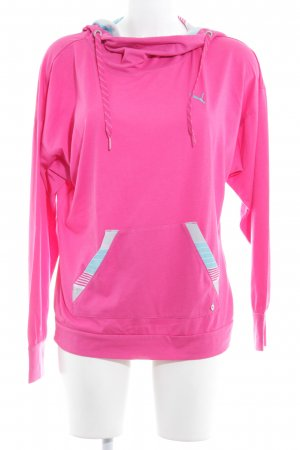 Puma Hooded Sweater striped pattern athletic style