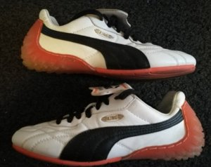 Puma King LS Sneaker Schuhe Gr. 36 weiß