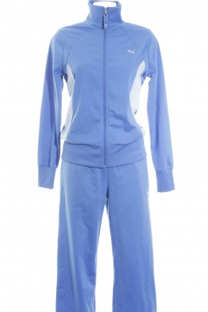Puma Kostüm kornblumenblau-blassblau sportlicher Stil