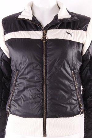 Puma Kurzjacke creme-schwarz