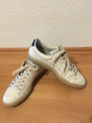 Puma Lace-Up Sneaker cream
