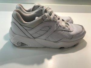 PUMA Leder Sneaker Gr. 36 weiss